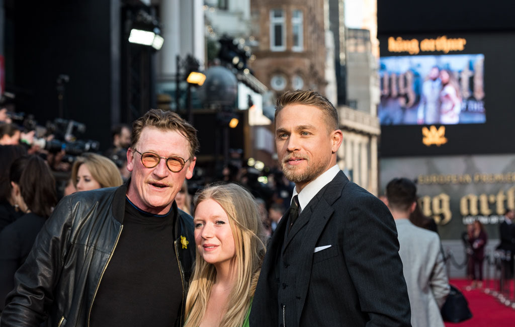 Charlie Hunnam and Geoff Bell